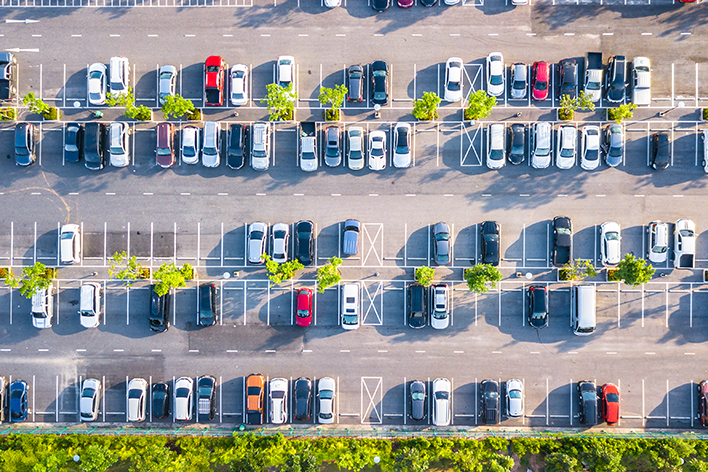 AIアルゴリズム「Package20」駐車台数カウント